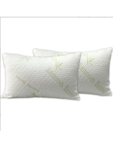 Ramesses Hypoallergenic Bamboo Pillow Protectors Twin Pack