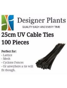 Designer Plants Artificial 25cm UV Cable ties