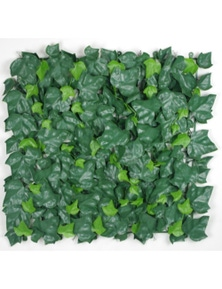 Designer Plants Artificial 4 x Ivy Leaf Screen Green Wall Panel UV Resistant