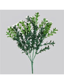 Designer Plants Artificial Flowering Boxwood Stem UV Resistant 30cm