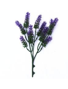 Designer Plants Artificial Small Lavender Wall Plant UV Resistant 26cm