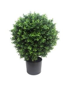 Designer Plants Artificial Topiary Shrub (Hedyotis) UV Resistant 70CM Mixed Green