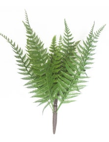 Designer Plants Artificial Dark Fern Stem UV Resistant 38cm