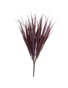 Designer Plants Dark Red Artificial Grass Stem 35cm Long UV Resistant