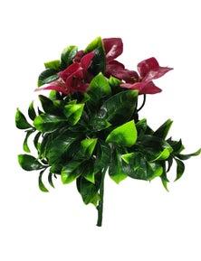 Designer Plants Artificial Flowering Purple Lilac Stem UV Resistant