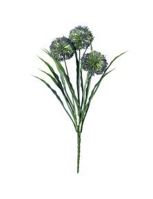 Designer Plants Artificial Lush Flowering Purple Hydrangea Stem 35cm UV Resistant