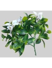 Designer Plants Artificial White Flowering Jasmine Stem UV Resistant 30cm
