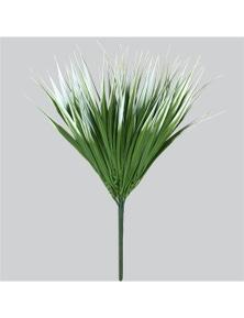 Designer Plants Artificial White Tipped Grass Stem UV Resistant 35cm