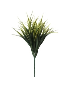Designer Plants Artificial Yellow Tipped Grass Stem UV Resistant 35cm