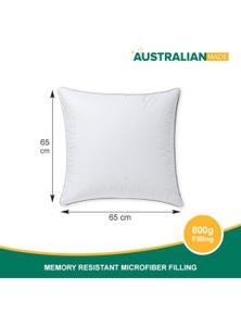 JaydeeBedding Premium Memory Resistant Pillow- Twin Pack