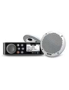 "Fusion MS-RA70N Bluetooth Stereo with MS-EL602 6"" Speakers Bundle Kit"