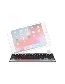 "Brydge 7.9"" iPad Mini Series II Bluetooth Keyboard Silver BRY5201"