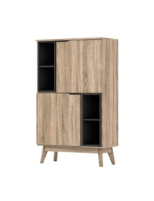 Luco Elsi Oak Storage Cabinet