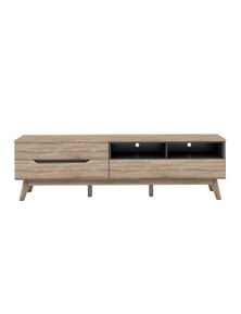 Luco Elsi 1.8m Oak TV Entertainment Storage Unit