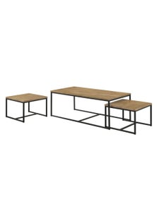 Luco Owen Maple Nest of 2 Coffee Tables