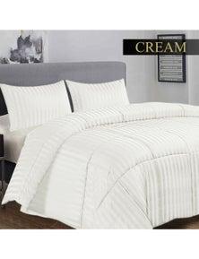Ramesses 3 Piece Damask Stripe Comforter Set