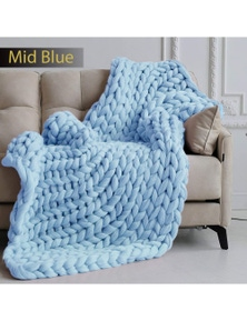 Ramesses Chunky Knit Blanket