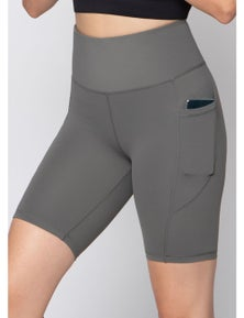 LaSculpte Women's Bike Shorts with Phone Pockets