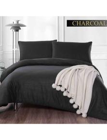 Shangri-La Cashmere Touch Flannelette Quilt Cover Set