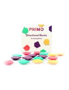 Primo Toys Cubetto Direction Blocks 16 Coding Blocks PRIMO005A-EN