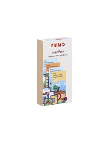 Primo Toys Cubetto Logic Pack Story Books & Illustrated Flash Cards