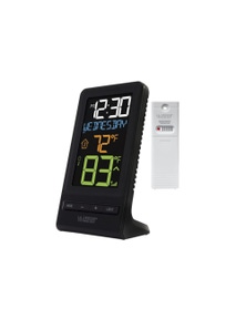 La Crosse Colour Digital Wireless Thermometer and Time 308-1415
