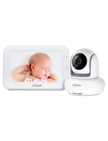 "Oricom SC875 Video Baby Monitor Touch 5"" HD Screen Secure 875"