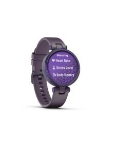Garmin Lily Sport Midnight Orchid w/ Silicone Smart Watch 010-02384-02