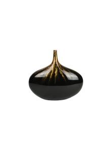 Rovan Atlantis Vase - Black & Gold