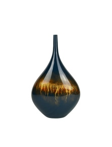 Rovan Atlantis Vase - Blue & Gold