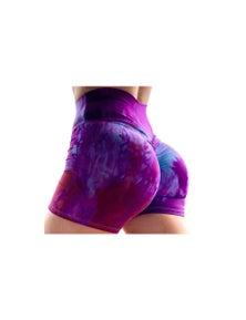 Tie Dye Scrunch Workout Shorts