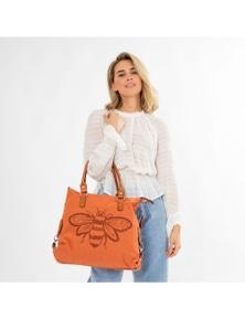 Sassy Duck Queen Bee Canvas Bag