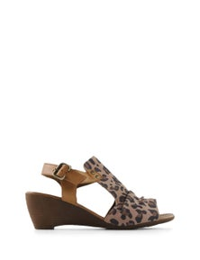 Bueno Wattle Heeled Sandal