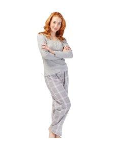 Magnolia Lounge Pretty Plaid Pant