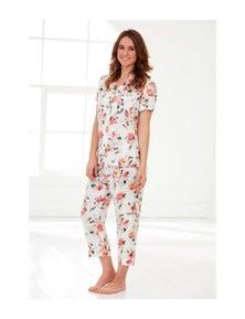 Magnolia Lounge Peony Sunrise Pyjama Set