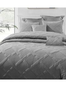 Ramesses 7-Piece Bamboo Blend Matelasse Comforter Set