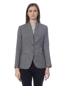 Peserico Grigio Jackets & Coat -IT42 | S