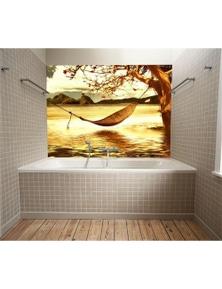 AJ Wallpaper 3D Swing Chair 706 Wall Murals Removable Wallpaper Woven Paper