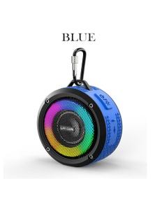 Waterproof Outdoor Wireless Bluetooth Speaker with LED Lights