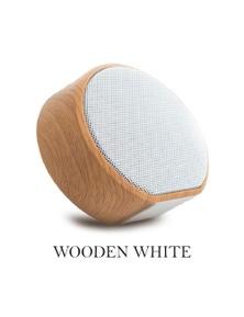 Mini Portable Wireless Wooden Speaker - Heavy Bass
