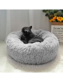 Long Plush Super Soft Calming Pet Bed