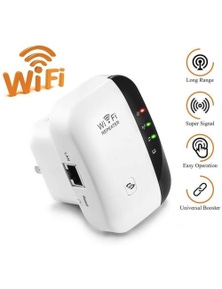 300Mbps Plug-In Wifi Repeater Booster