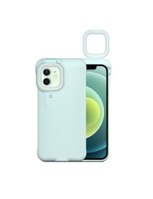 Mobile Protective Phone Case with Selfie Light