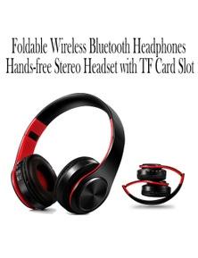 Wireless Bluetooth Headphones with TF Card Slot