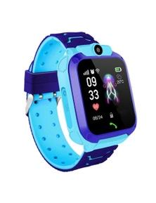Life Waterproof SOS USB Rechargeable Smartwatch for Children Micro SIM