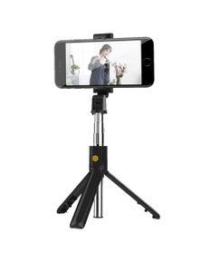 3 In 1 Wireless Bluetooth Selfie Stick Foldable Mini Tripod with Remote Control