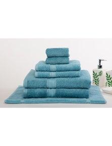 Mild Touch 650GSM Luxury Egyptian Cotton 7 Pieces Bath Sheet Set