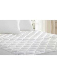 Linen Comfort Waterproof Fully Fitted Microfibre Mattress Protector Anti Allergy