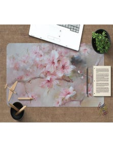 AJ 3D Peach Blossom 194 Non-Slip Office Desk Mouse Mat