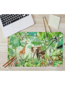 AJ 3D Painting Forest 190 Non-Slip Office Desk Mouse Mat